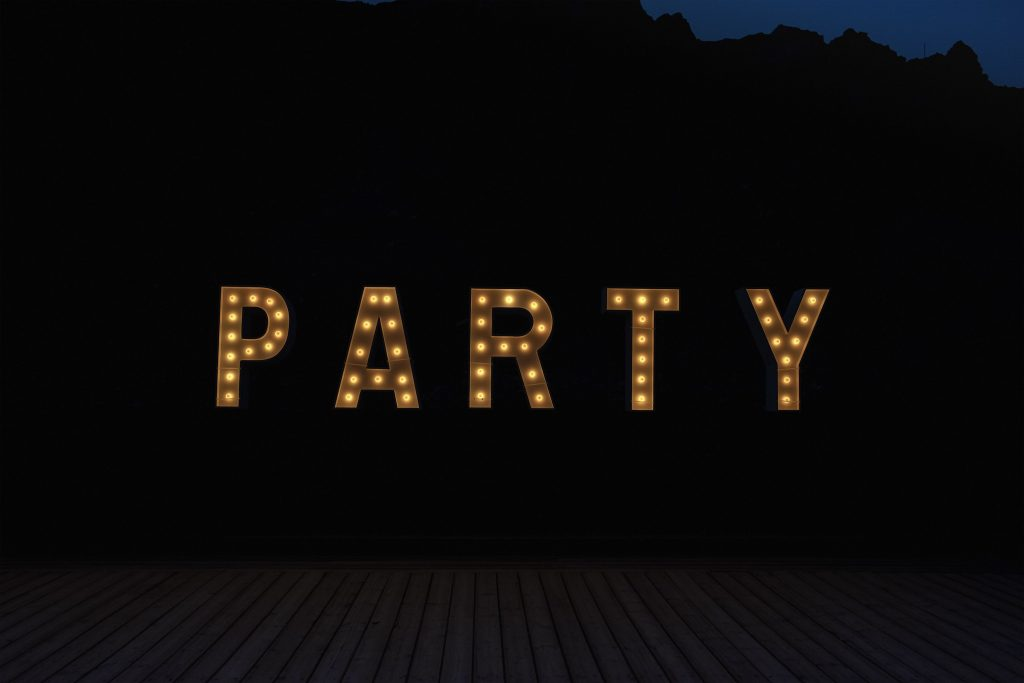 Party, 2017, Archival Pigment Print, 151x223cm