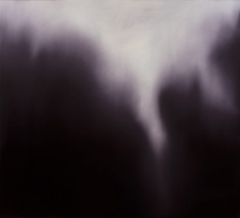 Purple Glowing #1, 2019, Oil on canvas, 200x220cm