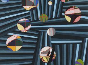 Circles (no3) 140x112 cm 2019