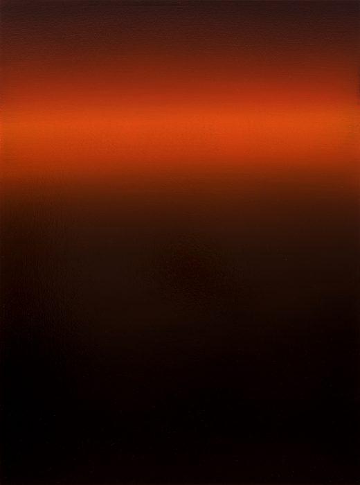 5.Crimson Sepctrum, 2019, oil on canvas, 80x60cm