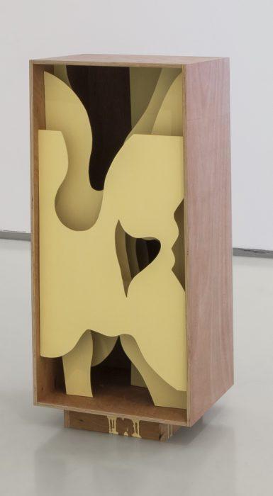 Naked Box, 2018, Plywood, 95x46x45cm