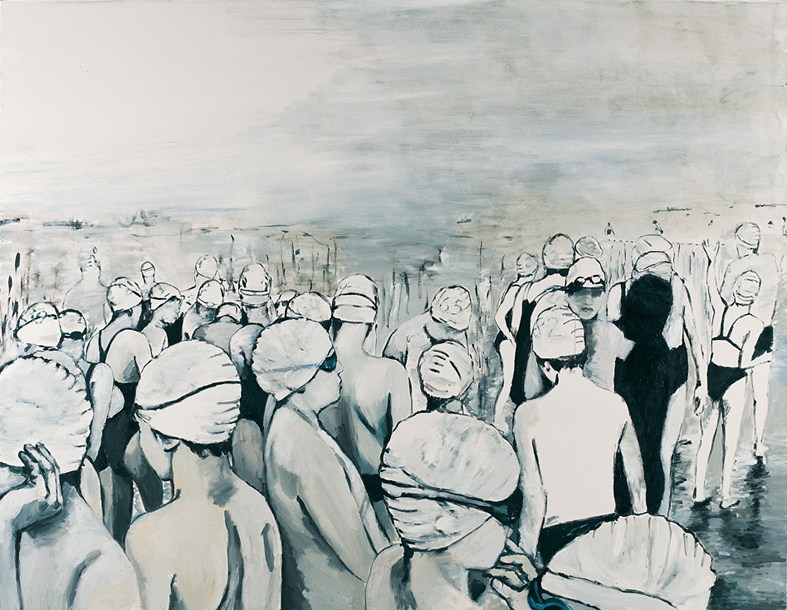 Orly Maiberg, Untitled 3, oil on canvas, 140x180 cm, 2012