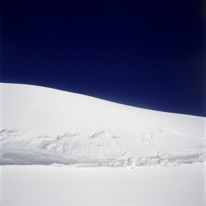 Naomi Leshem, Snow Dune, Archival Pigment Print, 100x100cm, 2015