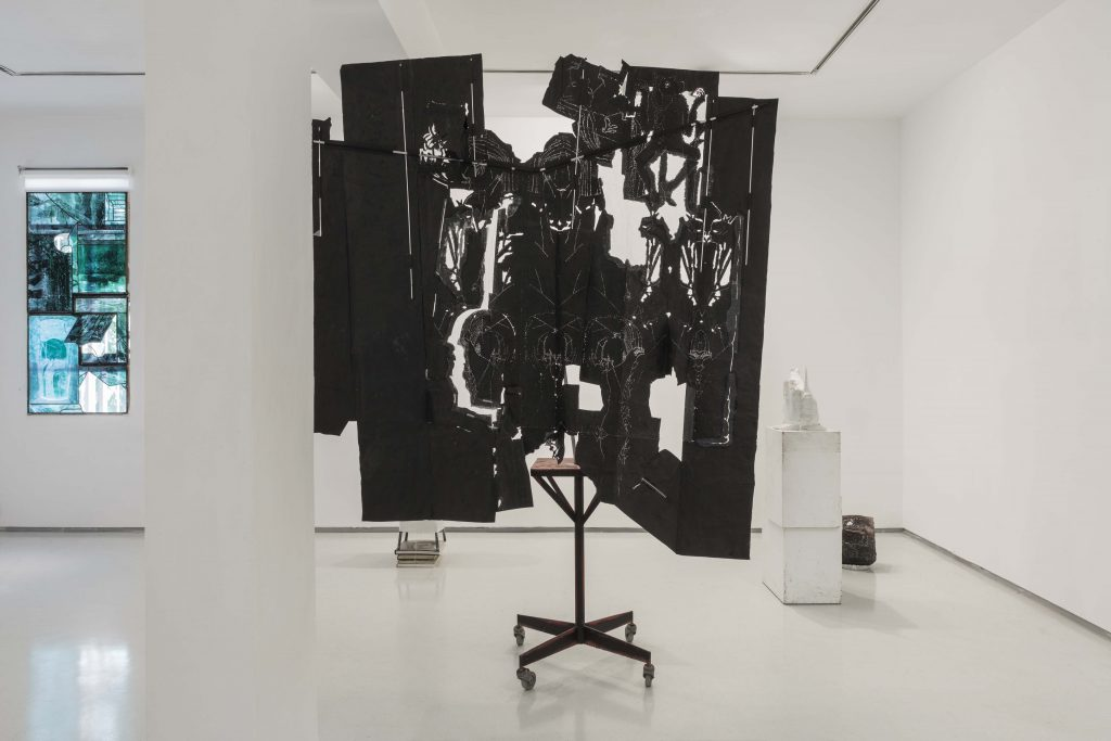 Installation view, Nut Case, Noga Gallery, 2018
