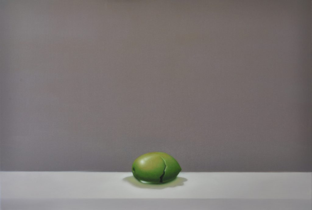 Michael Halak, Greenolive, Oil on Canvas, 120x80cm,2014