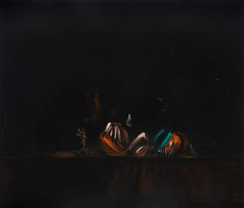 Eti Jacobi, Untitled #1, 2019, Acrylic on canvas, 60x70cm
